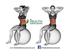 © Sasham   Dreamstime.com – Fitball exercising. Turns torso sitting on fitball. Female
