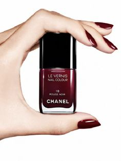 Chanel Rouge Noir - Just look at it. My absolute favorite nail colour.