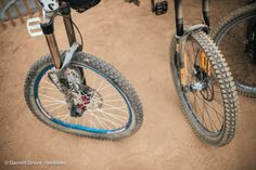 I think the wheel on the right looks a bit more usable. #redbullrampage