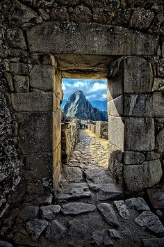 Machu Picchu Gate Way