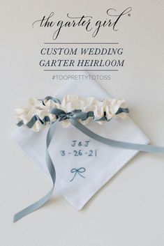 Heirloom Bag /& FREE U.S Black Tulle Garters For Wedding Garter Bachelorette Bridal Shower Gift For Bride  Includes Gift Box SHIPPING