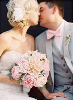 Pink Rustic Virginia Wedding at Thomas Birkby House  Event Design and Planning by Urban Lace Events www.urbanlaceevents.com pink wedding bouquet peonies dahlias and garden roses
