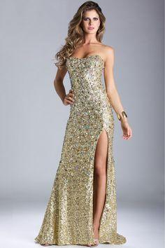 2014 Sweetheart Sheath/Column Prom Dress Court Trian Beaded With Rhinestone USD 179.99 VPSGD4BHG - VoguePromDresses
