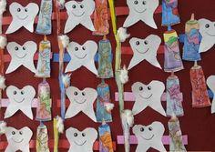 Kids Dentist, Kindergarten, Preschool Teachers, Preschool Crafts, Preschool Activities, Free Dental, Dental Health, Dental Hygiene, Health Lessons
