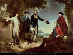 Captain James Cook 1728-79 Sir Joseph Banks 1743-1820 Lord Sandwich with Dr Daniel Solander 1733-82 and Dr John Hawkesworth 1715-73 1771 - John Hamilton Mortimer
