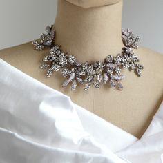 Astolfo Venetian Beaded Garden Necklace