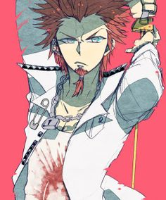 Leon Kuwata. I feel like the only person who doesn't ship him with Sayaka. >.<