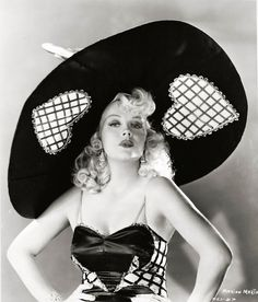 @PinFantasy - Vintage hat worn by Marion Martin  ~~ For more:  - ✯ http://www.pinterest.com/PinFantasy/moda-~-accesorios-complementos/