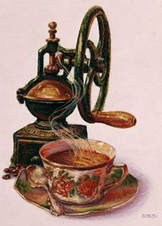 I love old coffee grinders. Have never drank coffee...go figure?