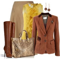 """""""Yellow and Brown lll"""""""
