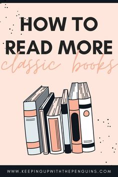 Have you ever found yourself zoning out, nodding along blankly, as the person you're with chats away about their favourite classic book? Here's your guide to read more classic books so you can keep up...
