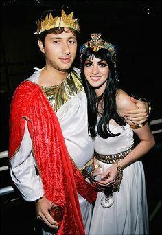 Hallowen Costume Couples Cleopatra and Mark Antony  sc 1 st  Pinterest & Celebrity Couples Halloween Costumes | POPSUGAR Celebrity ...