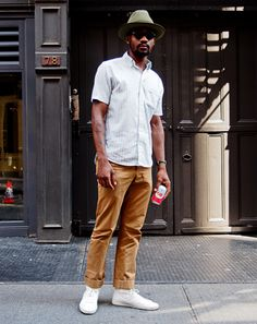New York City Street Style by Ben Ferrari: Style: GQ