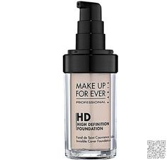 Make up for Ever HD #Invisible Cover #Foundation
