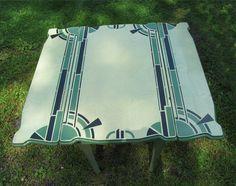 1930s Kitchen Table 'Porceliron' Enamel Steel & Chairs   1930s kitchen, Art deco kitchen ...
