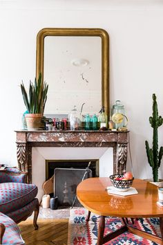 At Home with Magali Gnocchi, Head of PR at Sisley Paris — Rue Rodier blog www.ruerodier.com by Marissa Cox interview interiors photography paris
