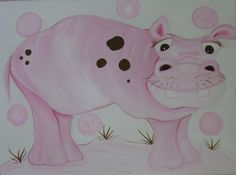 Hippo by hilarycassady on Etsy, $75.00