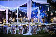 Enchanted Garden Wedding - Rainforest Wedding - Outdoor Wedding - Whimsical Wedding - Fairytale Wedding - Garden Ceremony - Rustic Wedding - Fairylights - Hanging Candles - Wedding Lighting  Sugar & Spice Events - Gold Coast Wedding Decorator