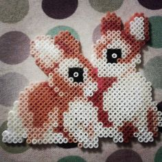 Bunnies hama beads by kellykinns13