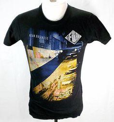 VTG The Firm Mean Business Concert T Shirt 1986 Sz Medium 80's Rock Jimmy Page