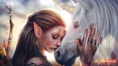 Elf by Andrey Zheltov on ArtStation. Horse Animation, Spirited Art, Simple Cartoon, Warrior Girl, Fantasy Paintings, Fantasy Rpg, Dark Fantasy, Marvel Funny, Artist Names