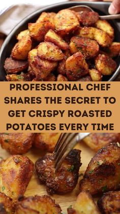 Potato Side Dishes, Vegetable Side Dishes, Vegetable Recipes, Vegetarian Recipes, Cooking Recipes, Healthy Recipes, Side Dish Recipes, Dinner Recipes, Roasted Potatoes