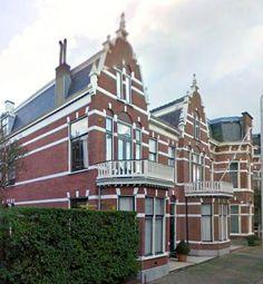 Herenhuis in Scheveningen, The Netherlands