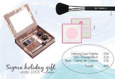 Tre idee regalo per il Natale 2013 firmate Sigma #ilregalogiustoper #sigma #makeup