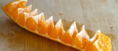 Cómo pelar la naranja de forma perfecta