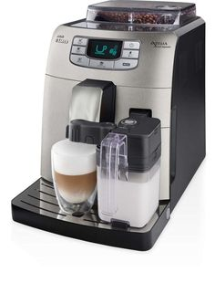 Saeco Philips Intelia is a fully automatic espresso machine designed to ensure the best espresso shot. Easy to use and clean with the touch of a button. Cappuccino Maker, Espresso Maker, Best Espresso, Espresso Coffee, Saeco Espresso, Coffee Mugs, Coffee Brewing Methods, Just In Case, Just For You