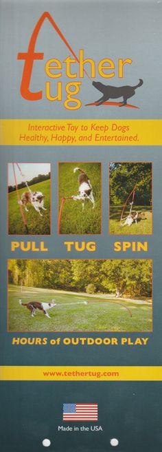 Tether Tug™ Dog Toy