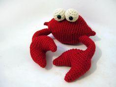 crochet crab ;P