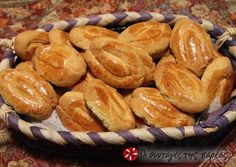 Κουλουράκια βανίλιας με γιαούρτι #κουλουράκια #cookpadgreece