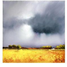Watercolor Landscape Paintings, Sky Painting, Abstract Watercolor, Landscape Art, Painting & Drawing, Abstract Art, Pics Art, Painting Inspiration, High Wycombe