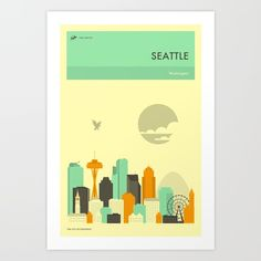SEATTLE by Jazzberry Blue  @society6 #seattle #washington #city #skyline #poster  #products #illustration #drawing #digital #chic #fashion #style #society6 #design #shop #shopping #buy #sale #fun #gift #idea #accessory #accessories #art #digital #contemporary #cool #hip #awesome  #sweet