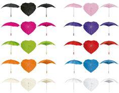 Colourful Heart Shaped Umbrellas at Secret Fashion Fixes. Check out our range here: http://www.secretfashionfixes.ie/umbrellas-!19-cat.html