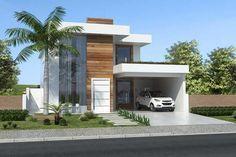 Sobrado con habitación de abajo - Proyectos de Casas, Modelos de Casas e Fachadas de Casas