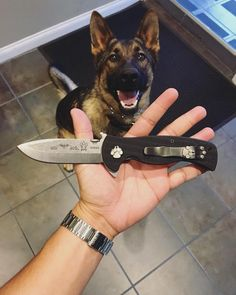 Emerson Knives is teaming with Save-A-Vet to help raise money for our K-9…