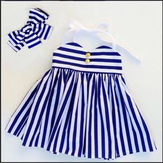 baby girls clothes blue strip girls romper dress with headband boutique baby rompers Sleeveless Toddler Girl Romper PhotographyCheap girls dress, Buy Quality girls dress wholesale directly from China wholesale girls dresses Suppliers: Summer Dress 20 Little Girl Outfits, Little Girl Dresses, Kids Outfits, Girls Dresses, Baby Dresses, Baby Outfits, Toddler Girl Romper, Toddler Dress, Toddler Fashion