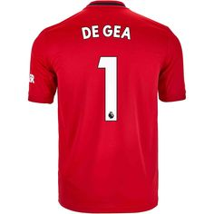 adidas David de Gea Manchester United Home Jersey - SoccerPro Jersey Atletico Madrid, Manchester United, The Unit, Adidas, Sports, Men, Shopping, Hs Sports, Sport