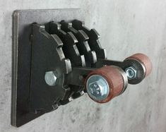 Steampunk Double Light Switch Cover / Levers / Gear /