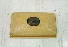 Antique HardShell Mens Jewelry Case  Vintage Swank by DivineOrders, $17.00