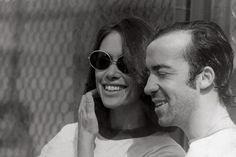 Dina Sfat e Tostão (jogador da seleção mundial de 1970)