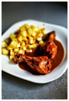 Mis recetas favoritas: Muslos de Pollo con Salsa a la miel (Olla Gm)