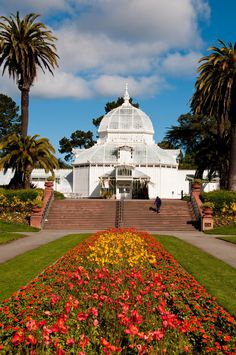 Conservatory of Flowers, in Golden Gate Park
