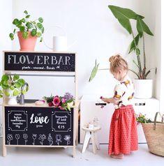Ikea Kids Kitchen, Mud Kitchen, Ikea Duktig, Ikea Toys, Childrens Kitchens, Kitchen Stickers, Wendy House, Diy Inspiration, Kid Spaces