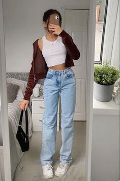 Indie Outfits, Teen Fashion Outfits, Retro Outfits, Cute Casual Outfits, Look Fashion, Stylish Outfits, Vintage Outfits, Summer Outfits, Girl Outfits