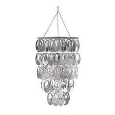 Brewster Home Fashions WallPops! Posh Chandelier at ATG Stores . hang above vanity. Bling Chandelier, Contemporary Pendant Lights, Ceiling Fixtures, Pendant Lighting, Light, Childrens Wall Decor, Chandelier, Fun Decor, Wallpops