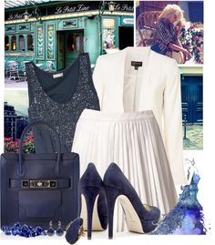 """""""September Birthstone: Sapphire"""" by adriana-adrielle ❤ liked on Polyvore"""
