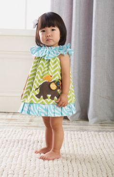 mud pie elephant dress... so cute! makes me want to go to the circus :)
